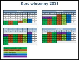 Kalendarz Kursu